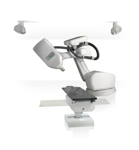 CyberKnife robotic radiation treatment machine